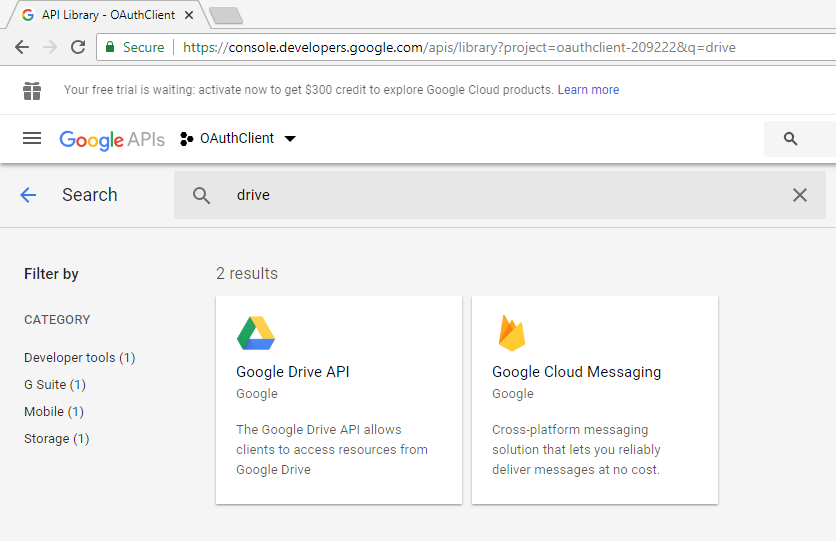 Authenticating with Google Drive in Mule (PART 1 – OAuth2